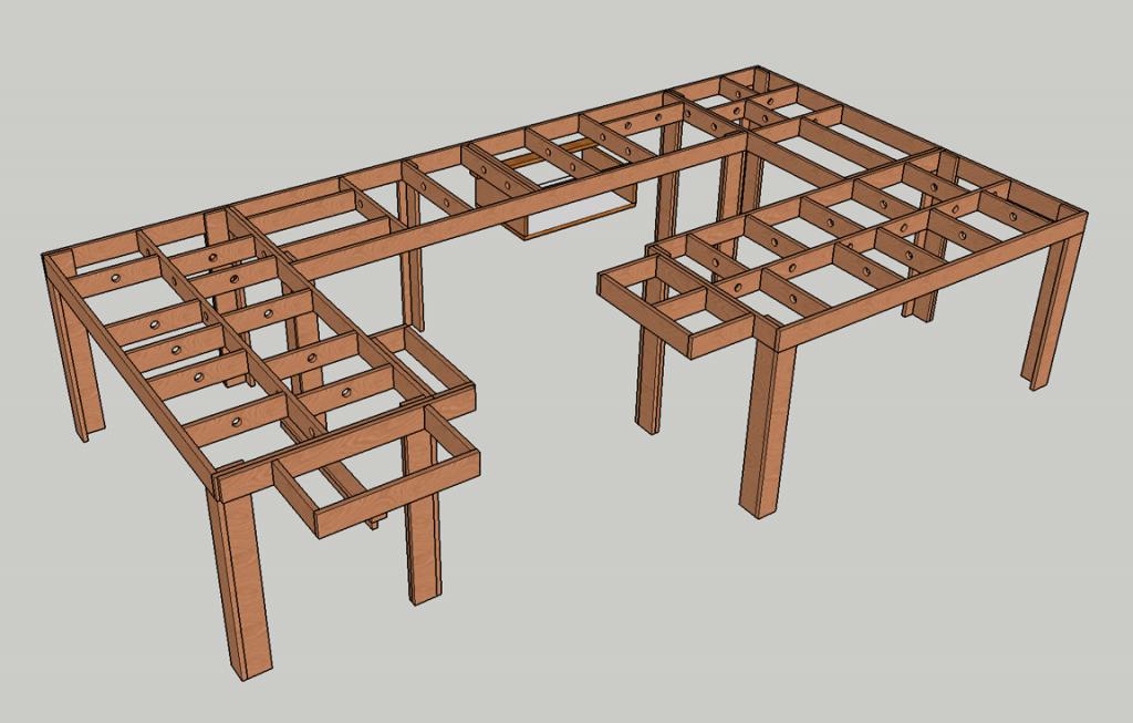 N scale model railroading, small n scale layout, model railroading bench work, lenz DCC, LZV100, LV101, N scale railroad planning, wiring model railroad