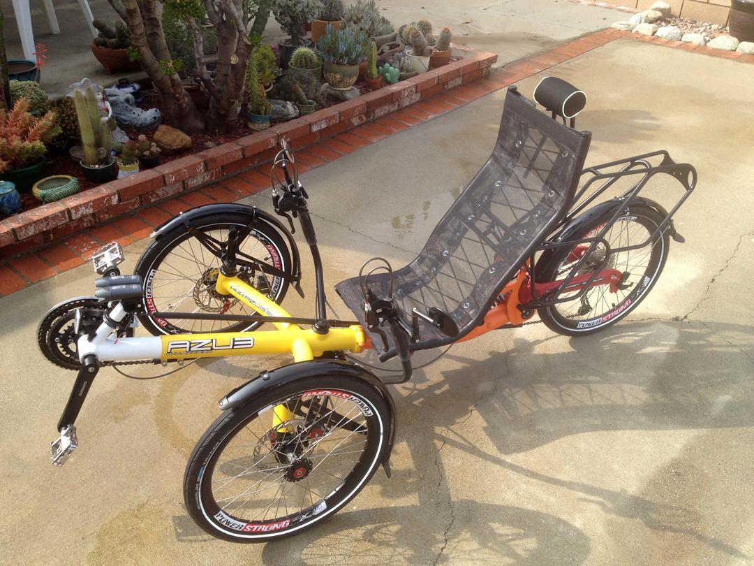 AZUB TRIcon Recumbent Tricycle